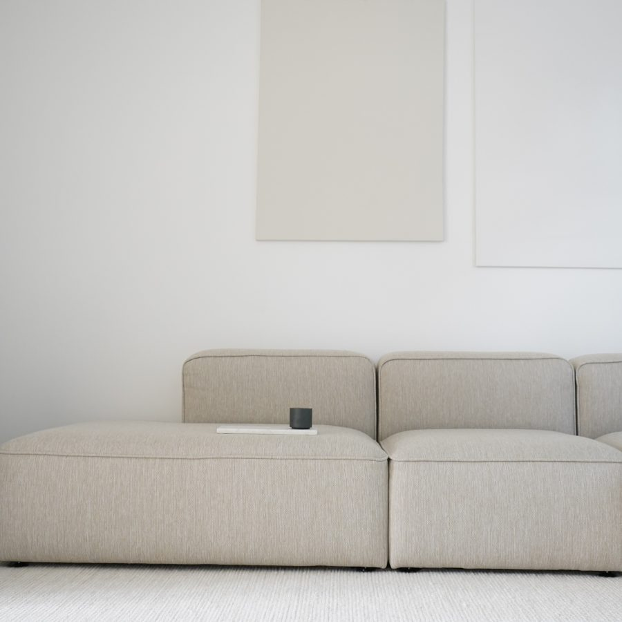 make nordic sofa with open end