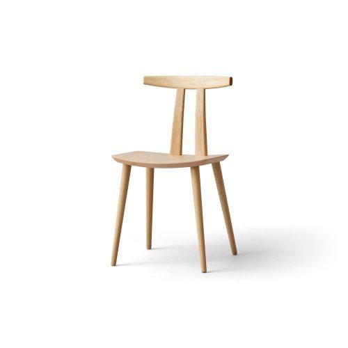 J111 - Dining chair - Oak matt lacquer