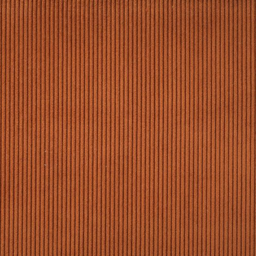 Fabric, velvet rust no. 100