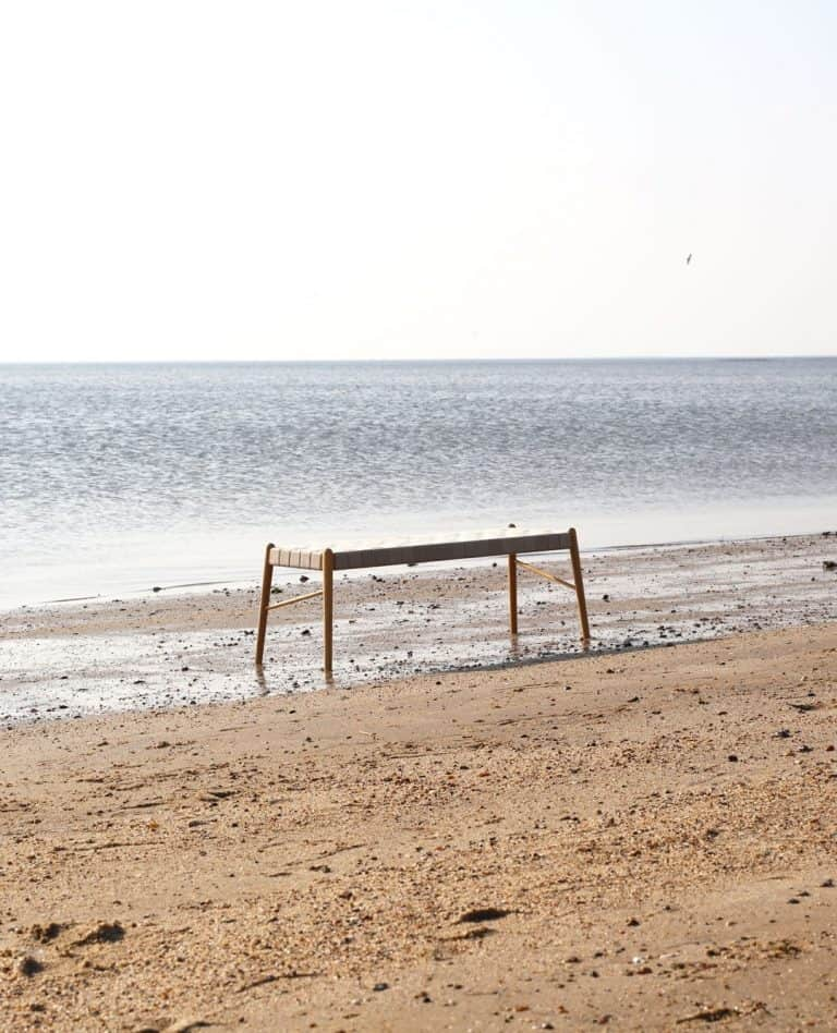 make nordic bench at beach