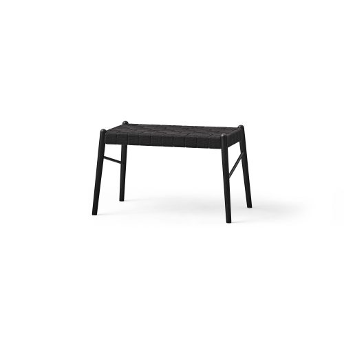 Design bench with strap, black