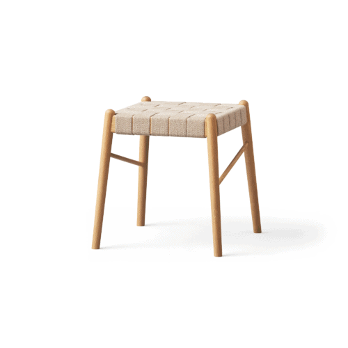 UMI - Oak stool, large