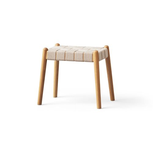 Design bench with strap, oak