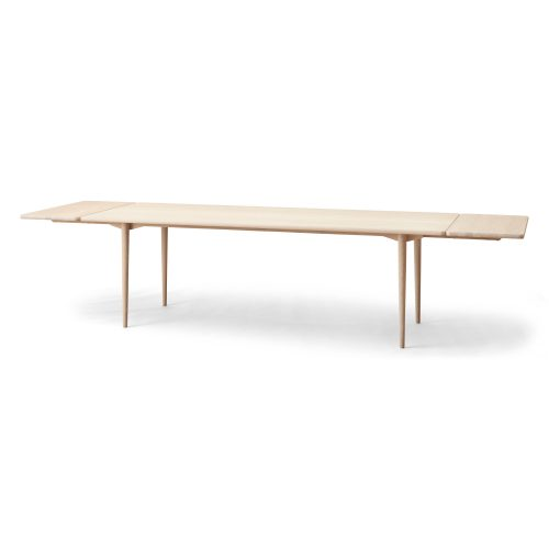long dining table, oak white oil, additional plates