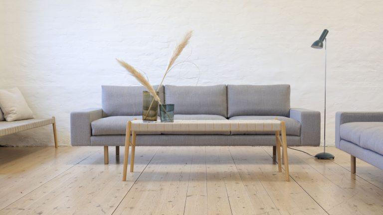 kaamos sofa with umi bench