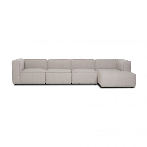 Large sofa with chaise lounge