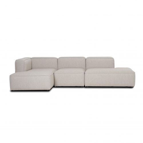 open end open sofa, 3 modules