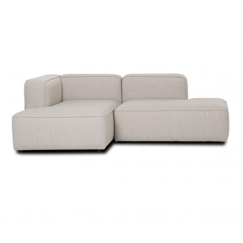 small sofa with chaise lounge