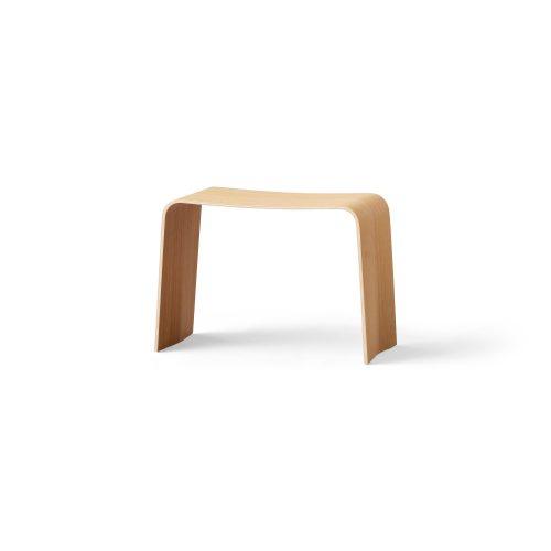 Bench, Oak veneer mat lacquer