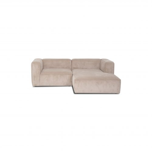 XL small sofa with chaise lounge