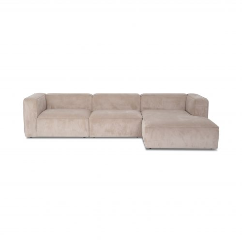 XL open end sofa with chaise lounge