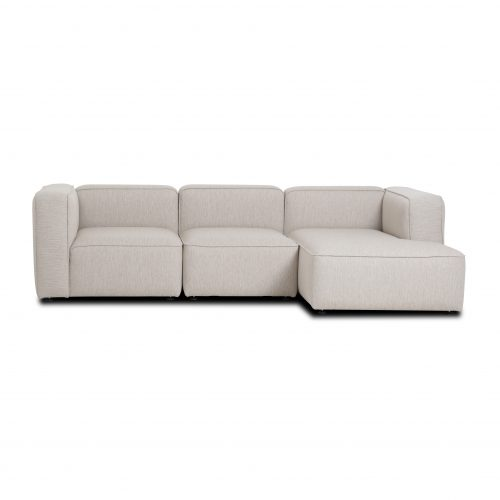 chaise lounge sofa, 3 modules