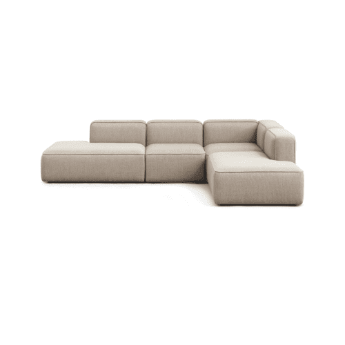 BASECAMP Open end open - right, 4 modules - Re-wool Beige no. 218