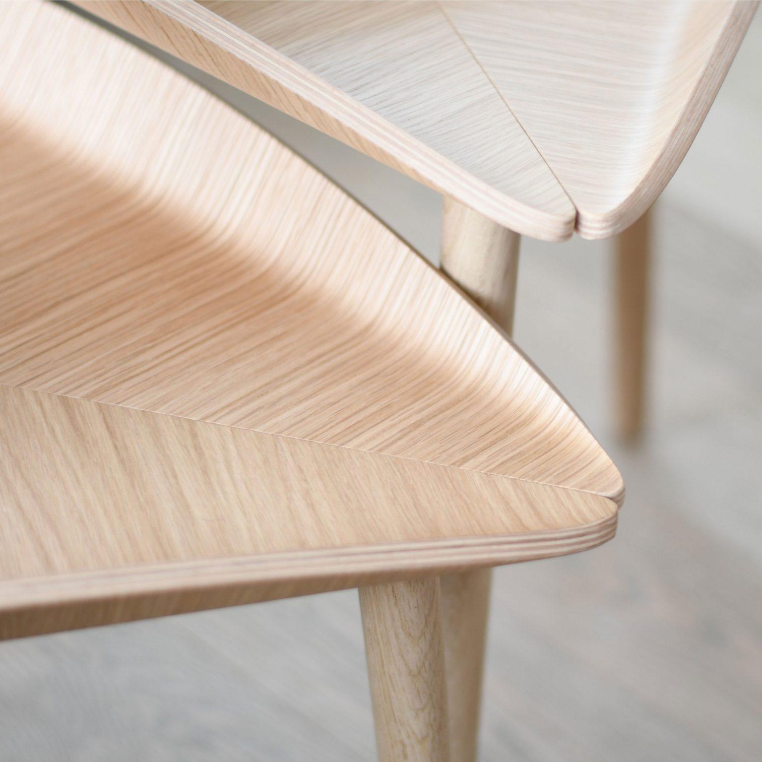 Design coffee table, oak