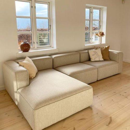basecamp chaiselounge XL kvadrat re-wool sofa