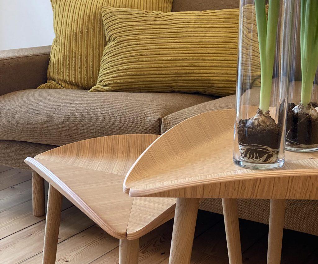 trias tables with kaamos sofa