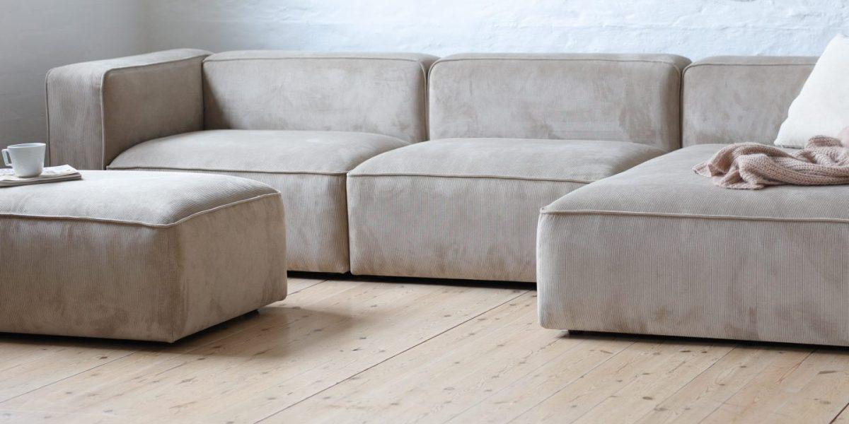 XL large chaise lounge sofa